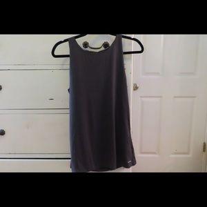 Dark gray Calvin Klein tank top